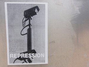 "Each new law passed, from the Patriot Act to the SB1070 immigration law, is a further attempt by power to control our lives — until before we know it, there are tracking chips in every passport and surveillance cameras at every major intersection. It's time we come to recognize ""order"" and ""progress"" for what they truly are — repression."